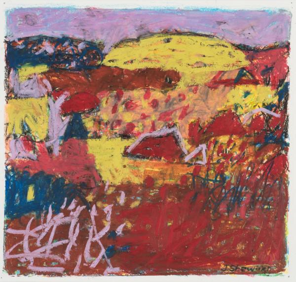 #1  - Oil pastel on paper 22 cm x 22 cm