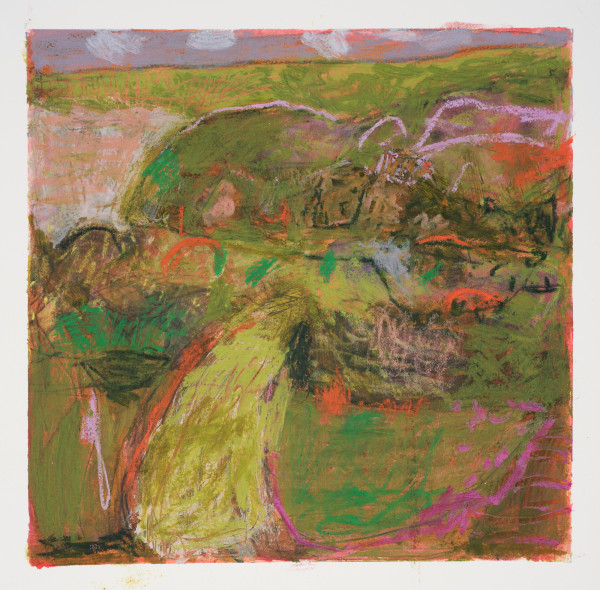 #19  - Oil pastel on paper 22 cm x 22 cm