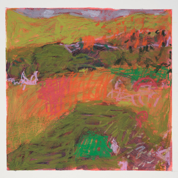 #17  - Oil pastel on paper 22 cm x 22 cm