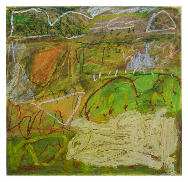 #15  - Oil pastel on paper 22 cm x 22 cm