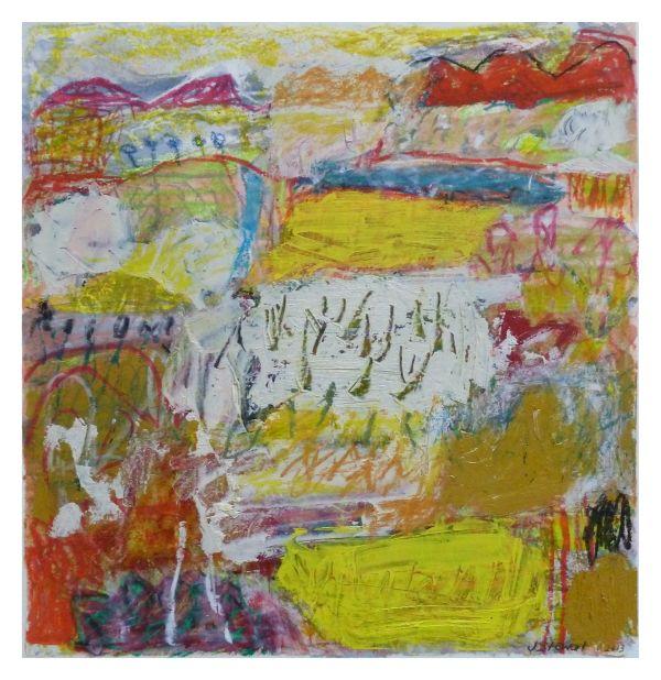 #11  - Oil pastel on paper 30 cm x 25 cm