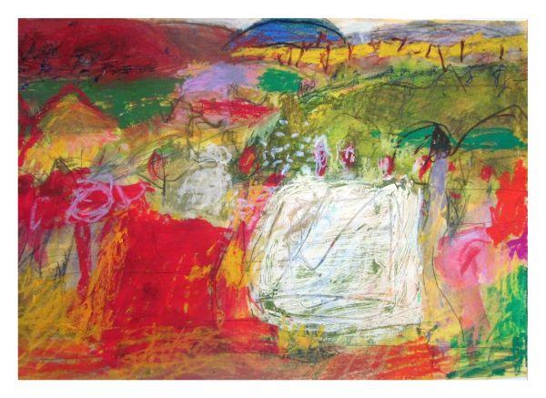 #10  - Oil pastel on paper 25 cm x 30 cm