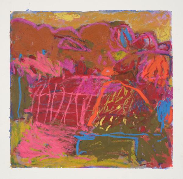 #3 - oil pastel on paper 22 cm x 22 cm