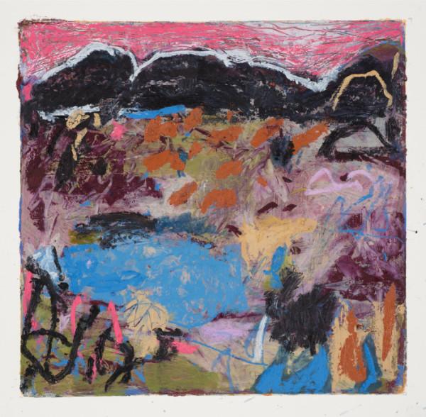 #20 - Oil pastel on paper 22 cm x 22 cm