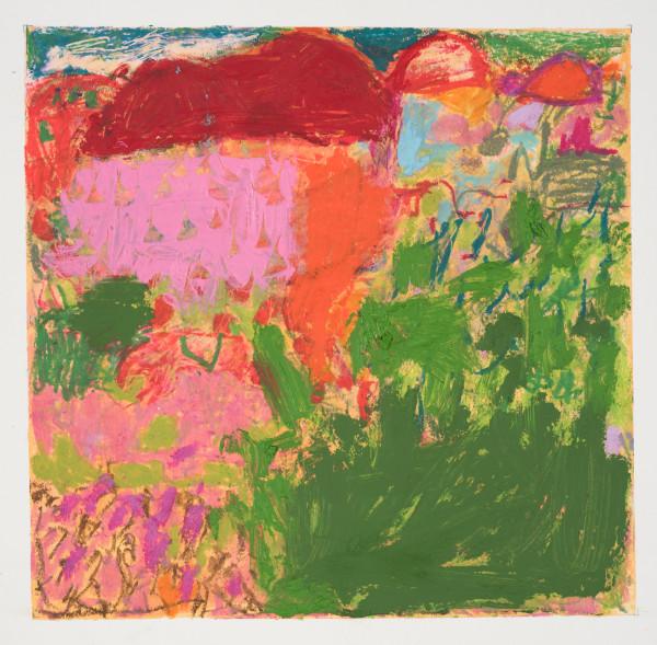 #8  - Oil pastel on paper 22 cm x 22 cm