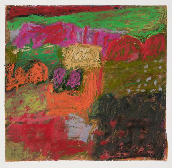#9  - Oil pastel on paper 22 cm x 22 cm
